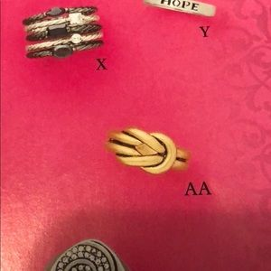 Premier Designs Jewelry - NWT Love Knot Ring by Premier Designs Size 7